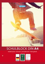 Schulblock A4