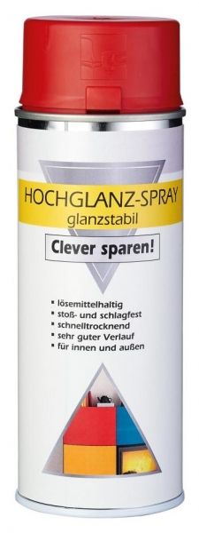 Hochglanz- oder Seidenglanzspray 400ml -