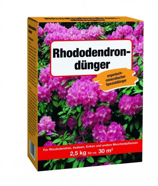 Rhododendron- oder Rosendünger -